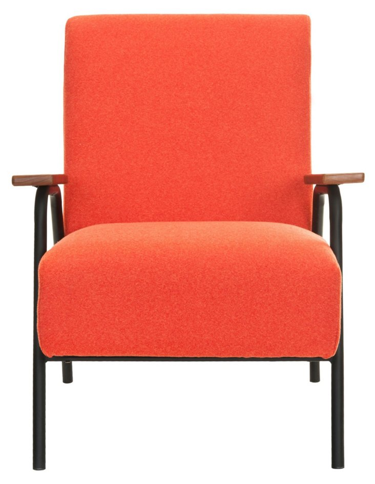 Madison Armchair, Orange