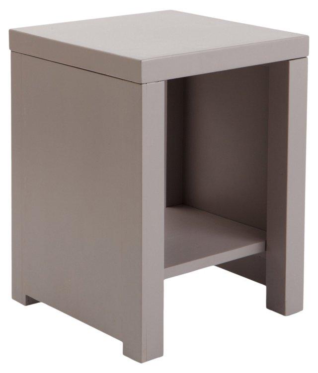 Leo Side Table, Light Gray