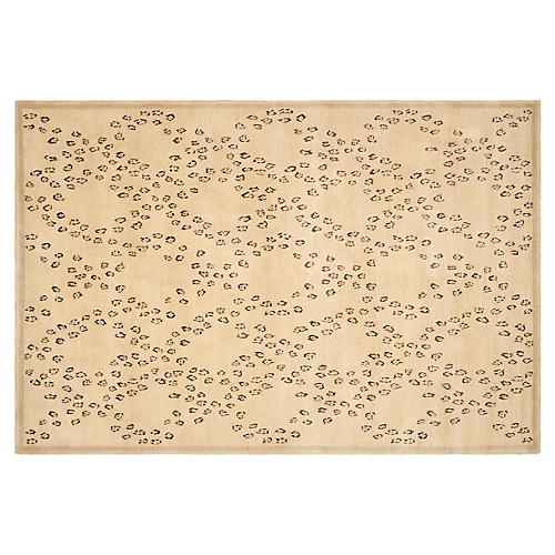 Thomas O'Brien Audra Rug, Oatmeal/Black