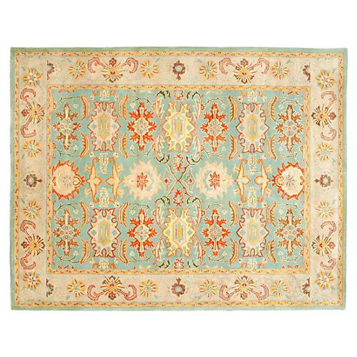 Betty Rug, Blue/Ivory