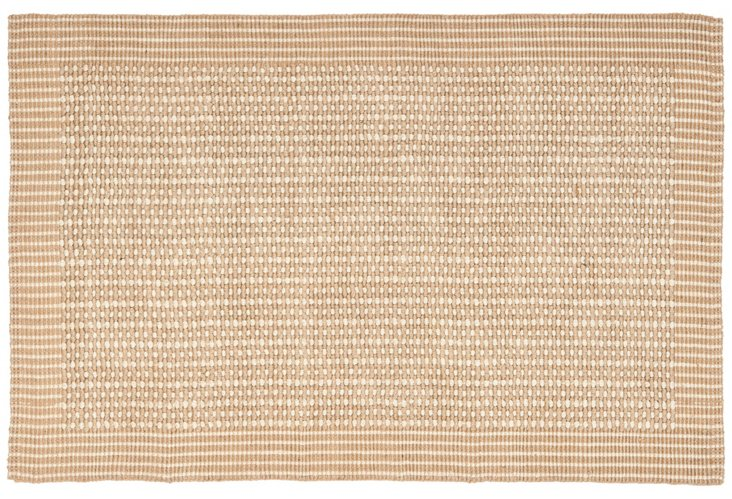 Holly Sisal Rug, Natural/Ivory