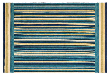 Martine Hemp-Blend Rug, Harbor