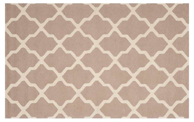 Mulberry Rug, Camel/Cream