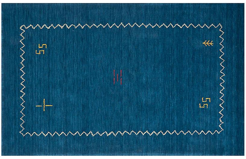 Beech Rug, Blue