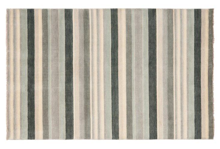 5'x8' Jane Rug, Gray/Multi