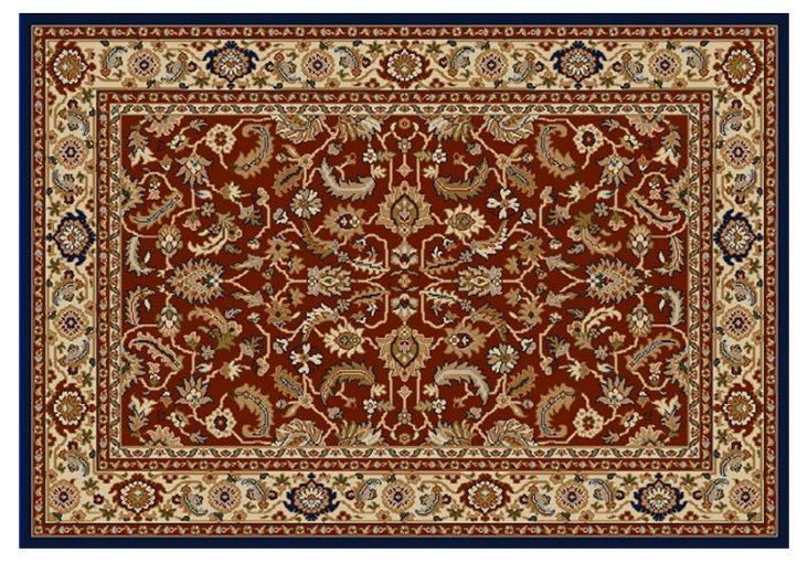 Cicely Rug, Red/Cream