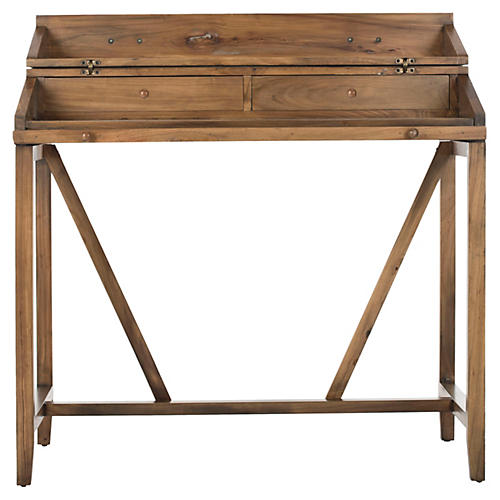 Elgin Writing Desk, Oak