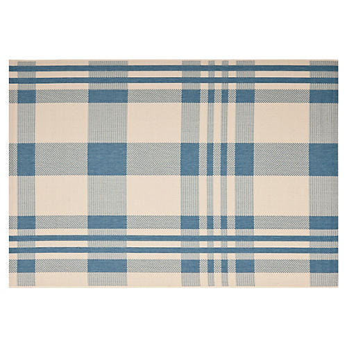 Shauna Outdoor Rug, Blue
