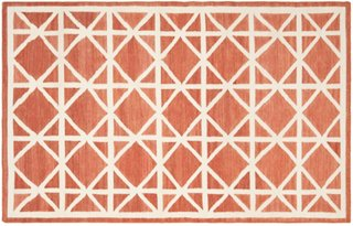 solitaire dhurrie rug red rugs sale by category sale one kings lane