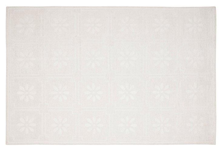 M Stewart Flat-Weave Rug, White