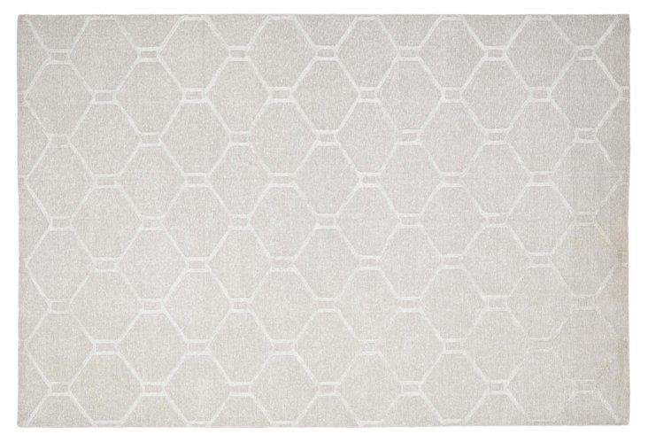 Martha Stewart Flat-Weave Rug, Gray