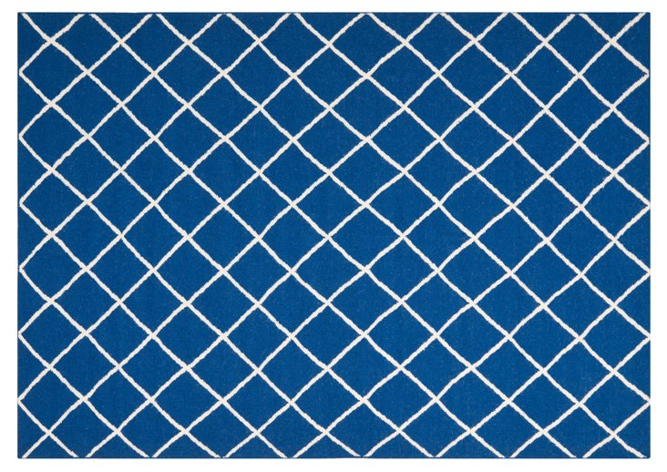 Maci Dhurrie, Royal Blue