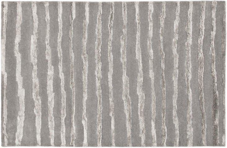 6'x9' Soho Rug, Gray