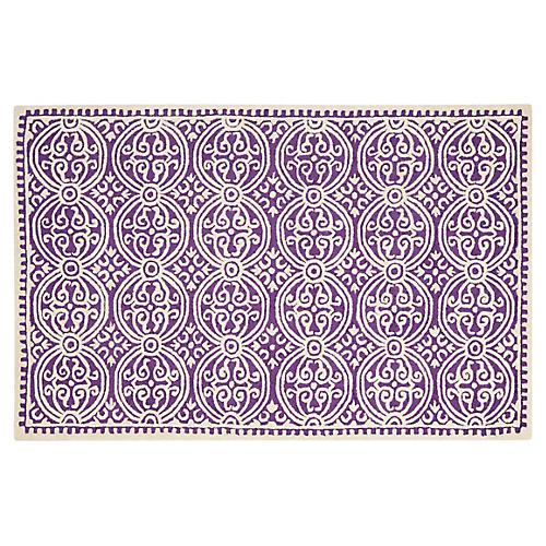 Jay Rug, Purple