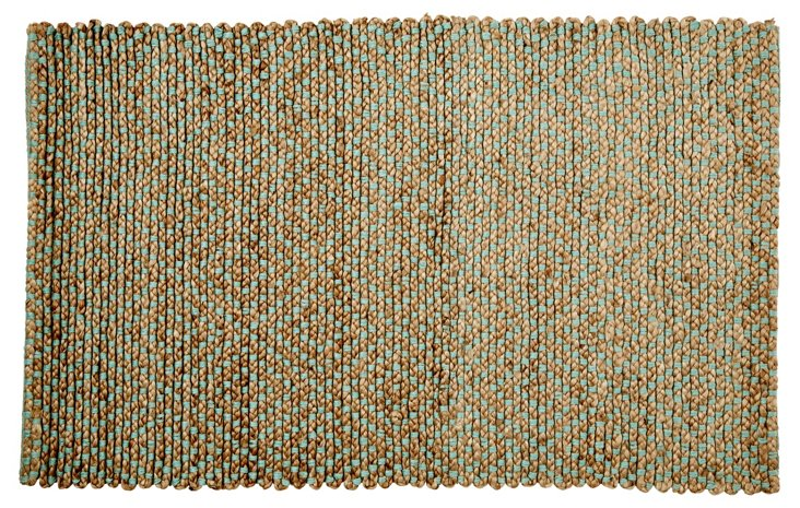 Siena Sisal Rug, Natural/Green