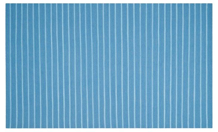 Maeve Flat-Weave Rug, Blue