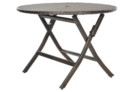 Outdoor Ellis Round Folding Table