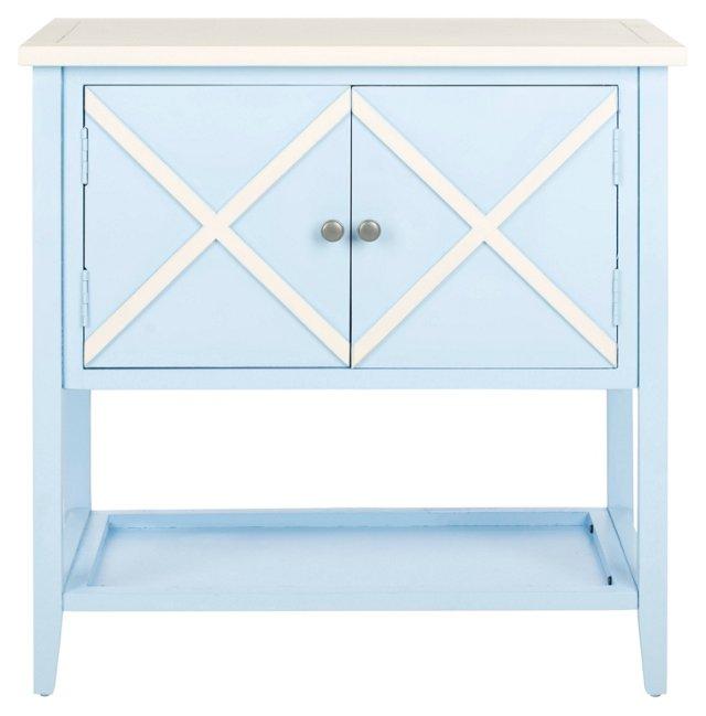 Honor Sideboard, Light Blue/White