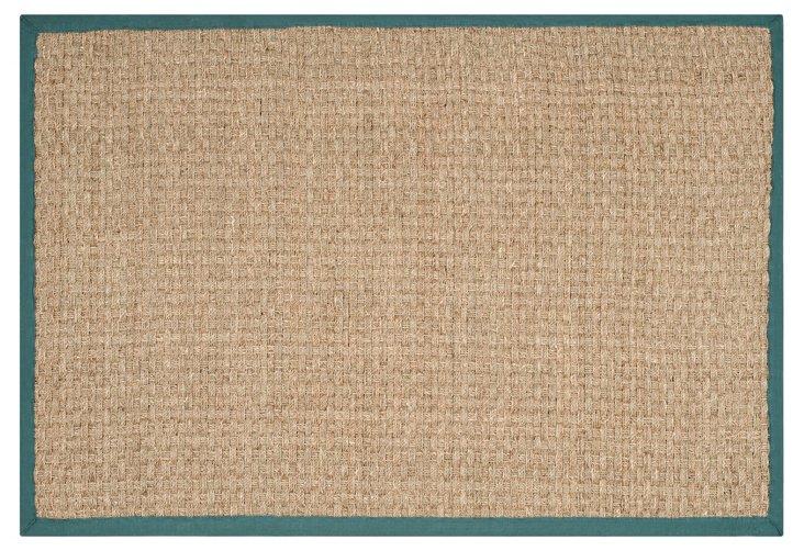 Malcom Sea Grass Rug, Teal