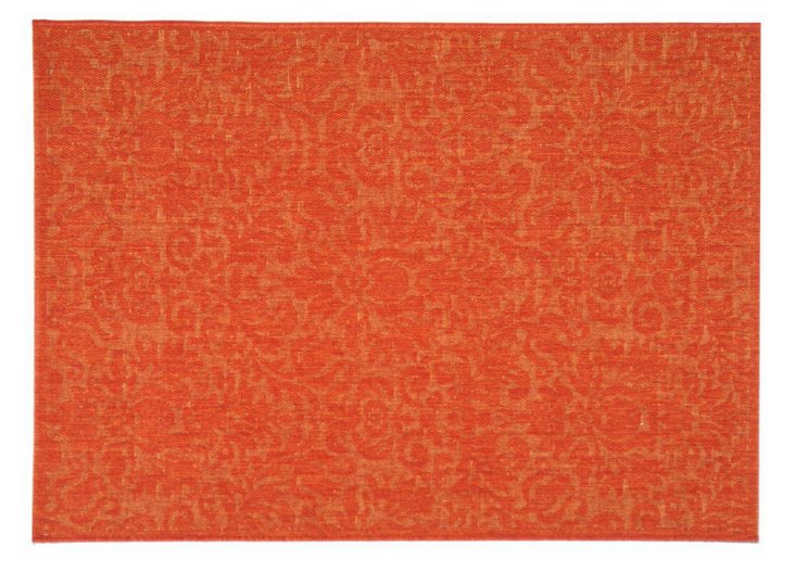 Millie Outdoor Rug, Orange
