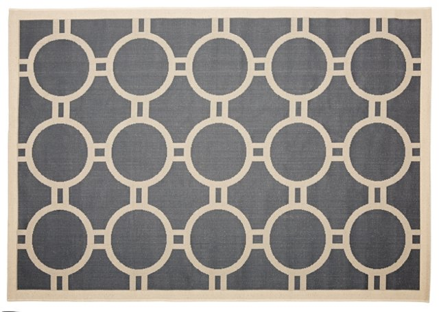 Marsha Outdoor Rug, Anthracite