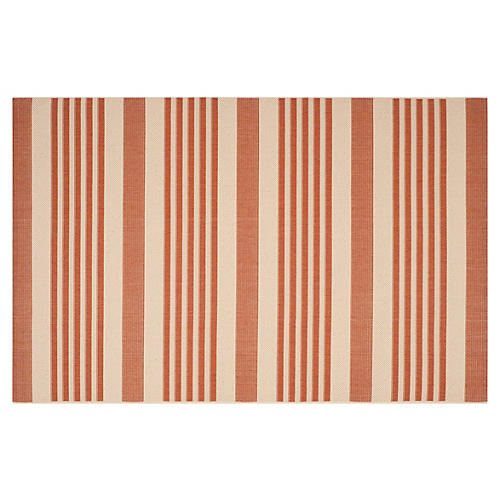 Collin Outdoor Rug, Terracotta