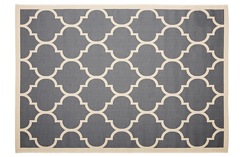 Lori Outdoor Rug - Charcoal