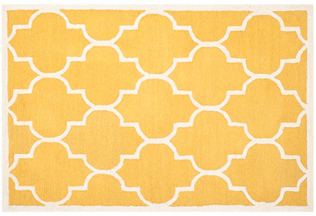 Sawyer Rug, Gold/Ivory