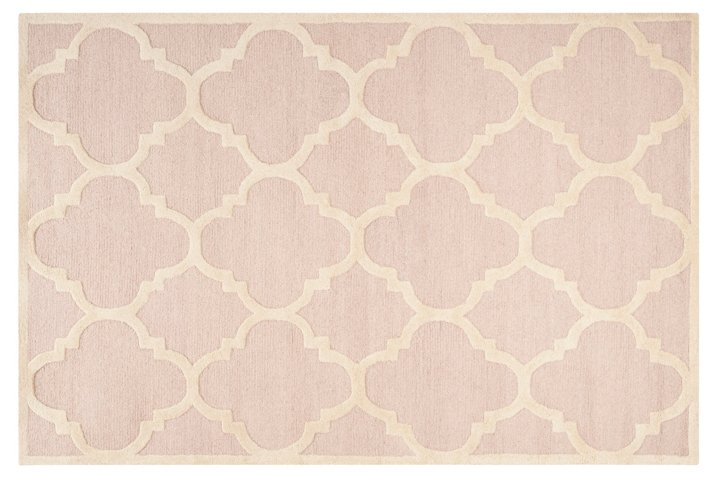 Carly Rug Light Pink Rugs Under 400 Affordable Finds One Kings Lane