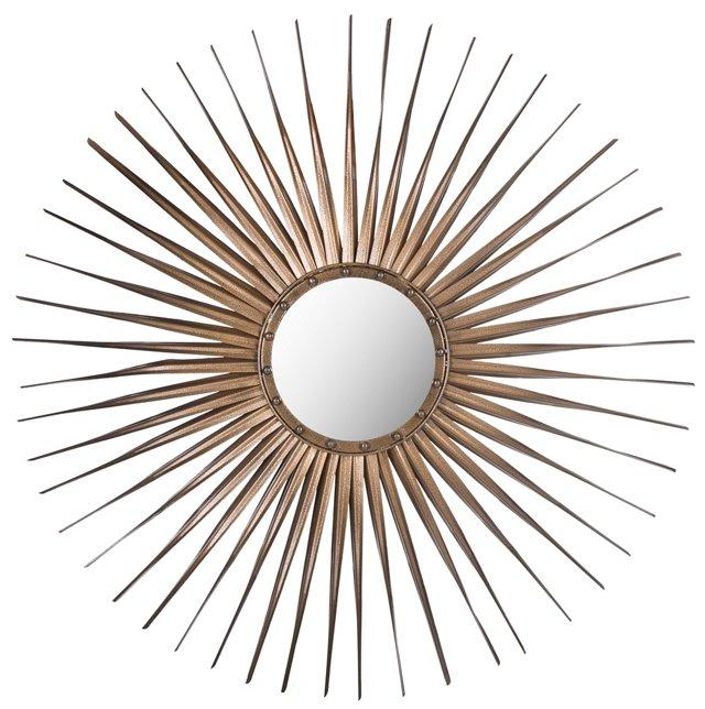 Shanira Wall Mirror, Gold