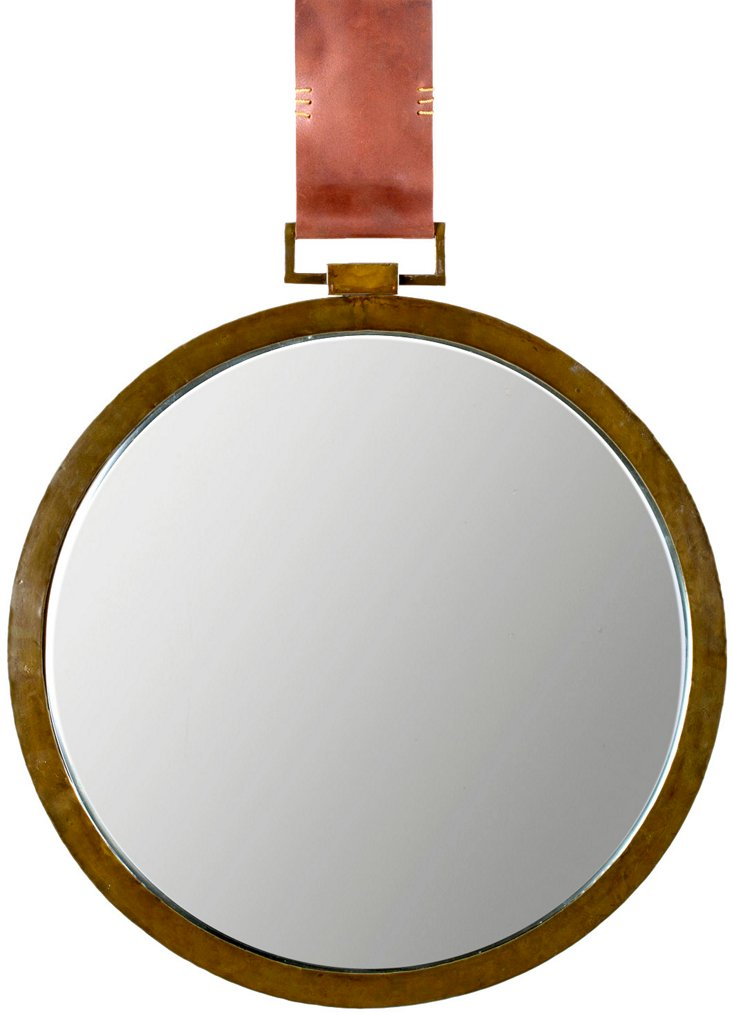 Marty Wall Mirror, Gold