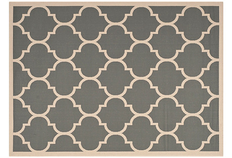 Lori Outdoor Rug, Charcoal