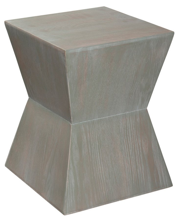 Lily Side Table, Ash Gray