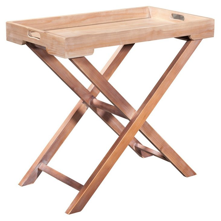 Liv Tray Table, Natural