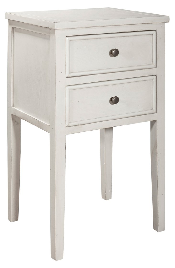 Tilly Nightstand, Eggshell