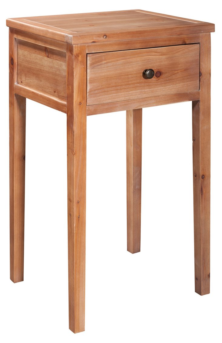 Nell Nightstand, Natural