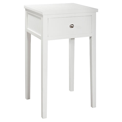 Nell Nightstand, White