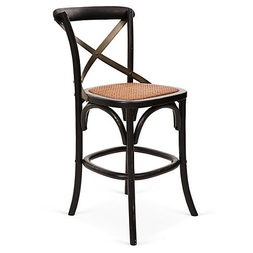 Graham Counter Stool, Black