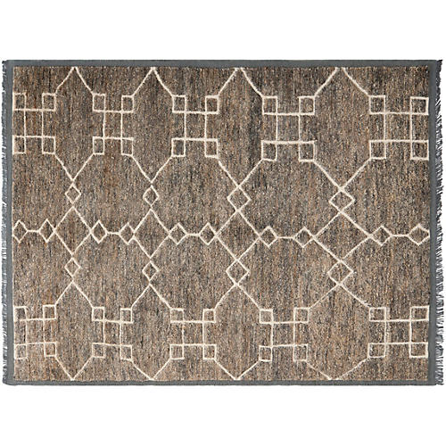 Thomas O'Brien Jute-Blend Rug, Gray