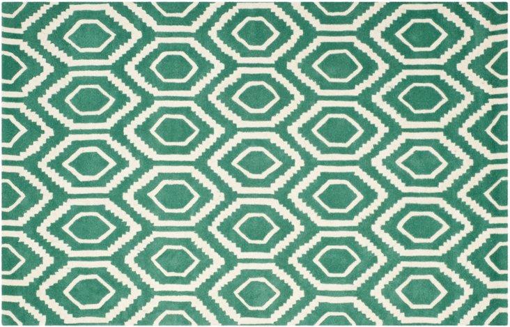Danny Rug, Emerald/Ivory