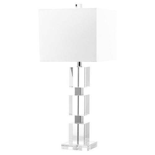 Ice Palace Cube Lamp, Crystal