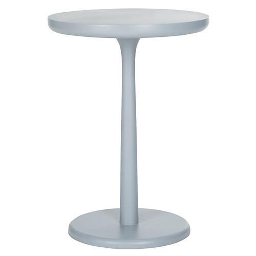 Anja Side Table, Moon Gray