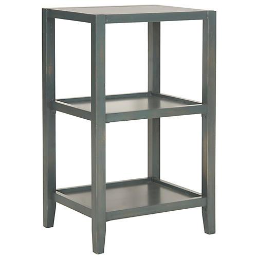 Kioni Bookcase, Dark Teal