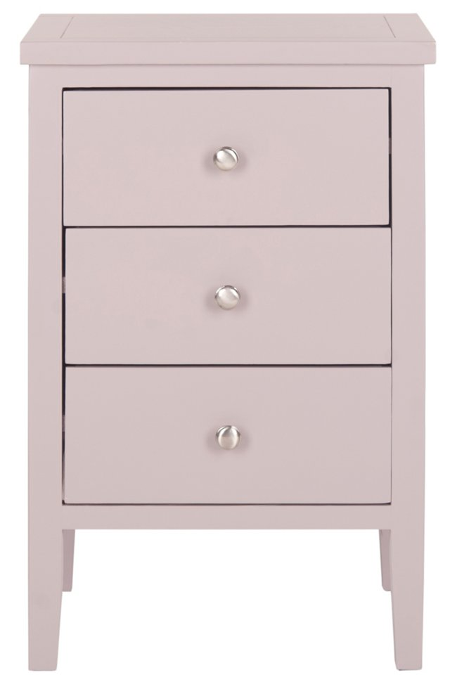 Delancy Nightstand, Light Pink