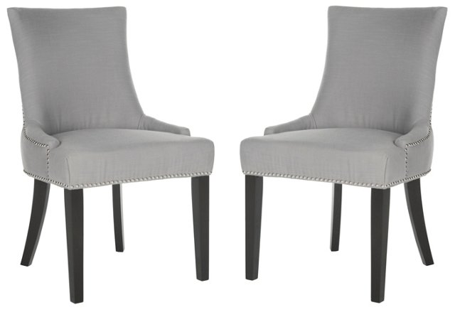 Ash Lester Dining Chairs, Pair