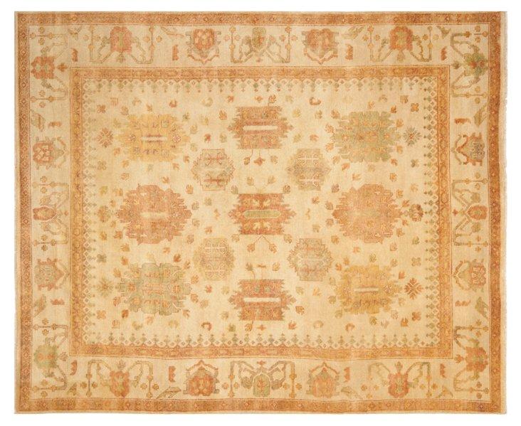 8'x10' Nell Oushak Rug, Gold/Caramel