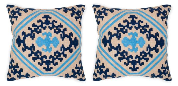 S/2 Kev Pillows, Multi