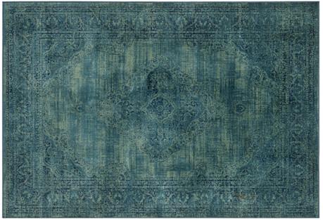 Medlin Rug, Turquoise/Multi
