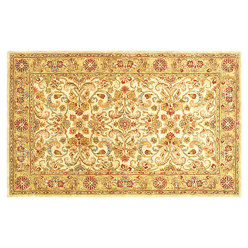 Arryn Rug, Gray/Light Gold