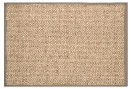 Malcolm Sea-Grass Rug, Gray